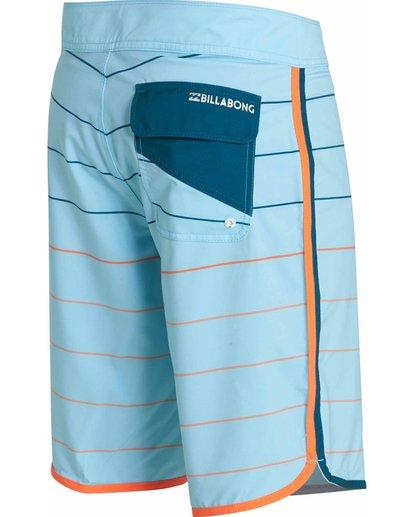 3 73 X Stripe Boardshorts Blue M138JSTX Billabong