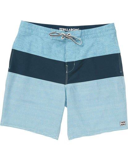 0 Tribong Lo Tides Boardshorts Blue M141NBTB Billabong
