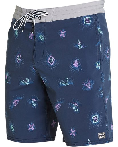 1 Sundays Lo Tides Boardshorts Purple M142NBSU Billabong