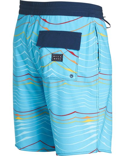 2 Sundays Lo Tides Boardshorts Blue M142NBSU Billabong