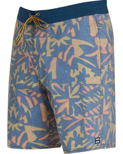 1 Sundays Lo Tides Boardshorts Yellow M142NBSU Billabong