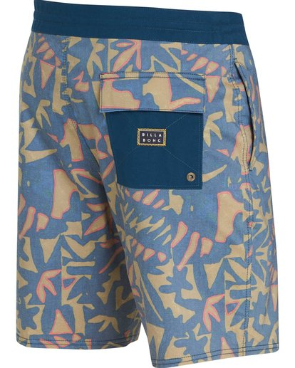 2 Sundays Lo Tides Boardshorts Yellow M142NBSU Billabong