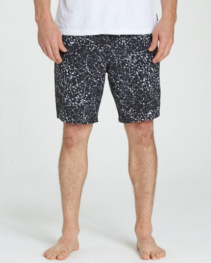3 Sundays Lo Tides Boardshorts Black M142NBSU Billabong