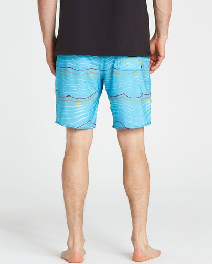 4 Sundays Lo Tides Boardshorts Blue M142NBSU Billabong