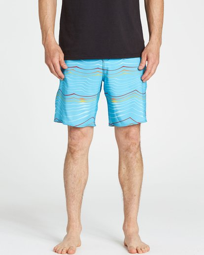 3 Sundays Lo Tides Boardshorts Blue M142NBSU Billabong