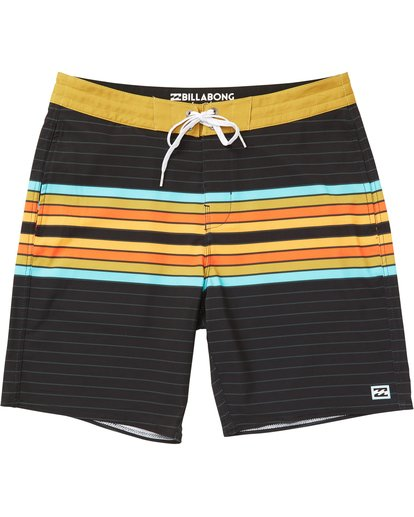 0 Spinner Lo Tides Boardshorts Black M143QBSP Billabong