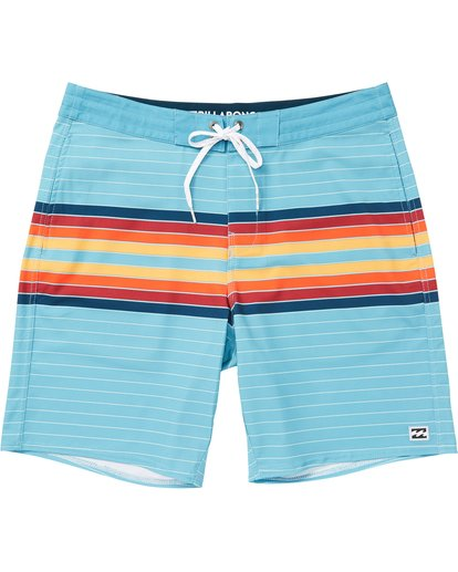 0 Spinner Lo Tides Boardshorts Blue M143QBSP Billabong