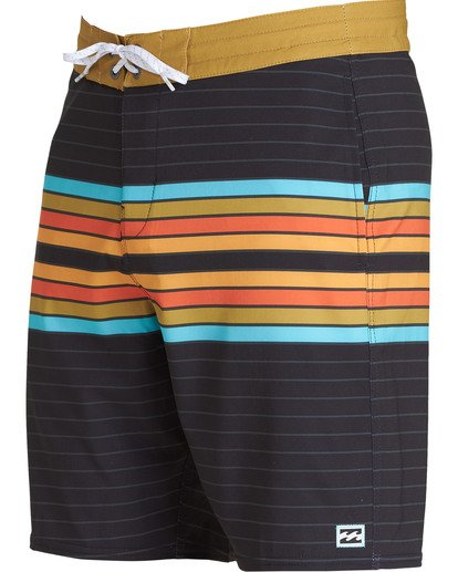 2 Spinner Lo Tides Boardshorts Black M143QBSP Billabong