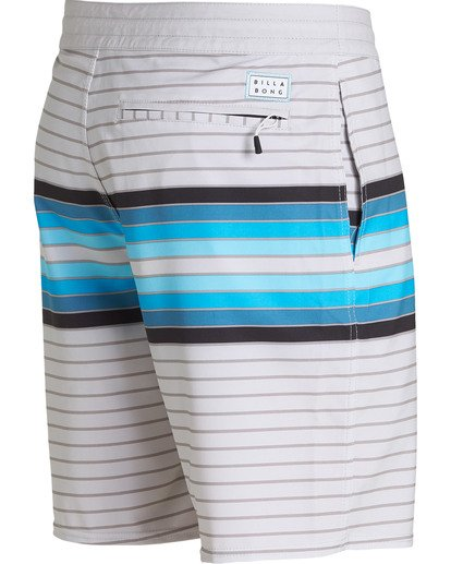 3 Spinner Lo Tides Boardshorts Grey M143QBSP Billabong