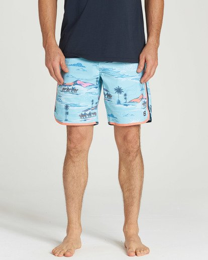 4 73 Lineup LT Boardshorts Blue M143TBSL Billabong