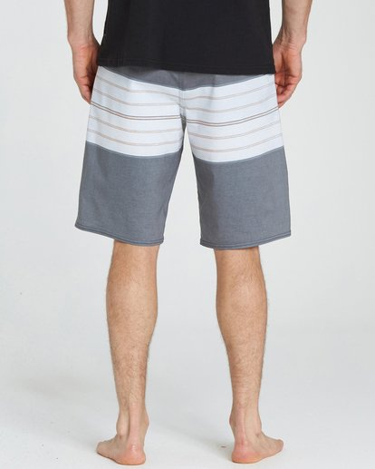 6 Stringer Lo Tides 21 Boardshorts Black M144NBST Billabong