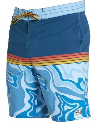 1 Fifty50 Lo Tides Boardshorts Blue M145NBFF Billabong
