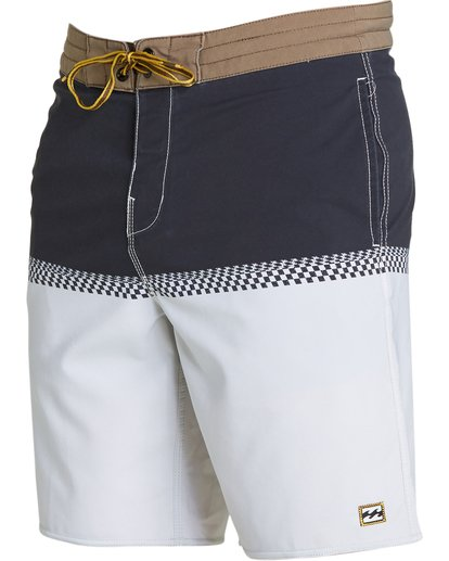 1 Fifty50 Lo Tides Boardshorts Grey M145NBFF Billabong