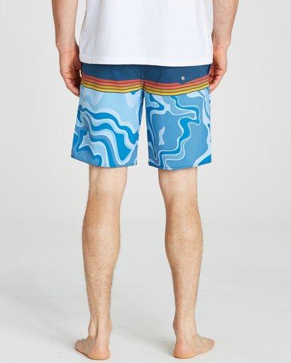 4 Fifty50 Lo Tides Boardshorts Blue M145NBFF Billabong