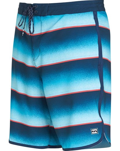 1 73 Lo Tides Lineup Boardshorts Blue M147NBST Billabong