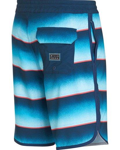 2 73 Lo Tides Lineup Boardshorts Blue M147NBST Billabong