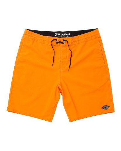0 All Day Lo Tide Boardshorts Orange M147TBAE Billabong