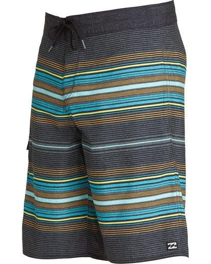 1 All Day Stripe OG Boardshorts Grey M160TBAD Billabong