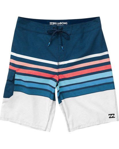 0 All Day OG Stripe Boardshorts Blue M165NBAS Billabong