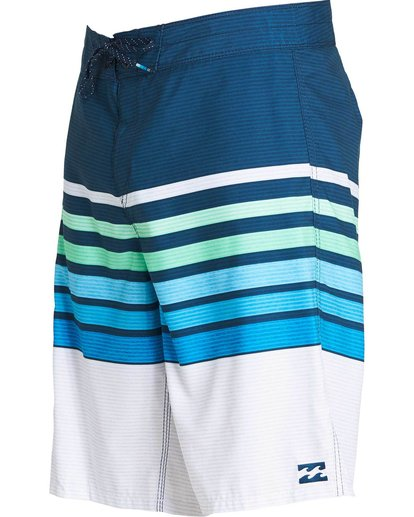 1 All Day OG Stripe Boardshorts Blue M165NBAS Billabong