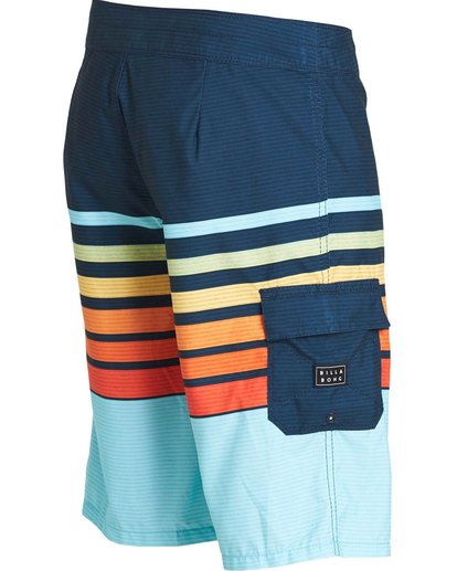 2 All Day OG Stripe Boardshorts Orange M165NBAS Billabong