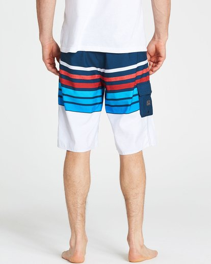 4 All Day OG Stripe Boardshorts Blue M165NBAS Billabong