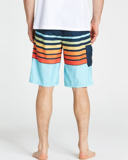 4 All Day OG Stripe Boardshorts Orange M165NBAS Billabong