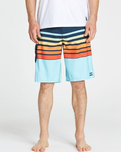 3 All Day OG Stripe Boardshorts Orange M165NBAS Billabong