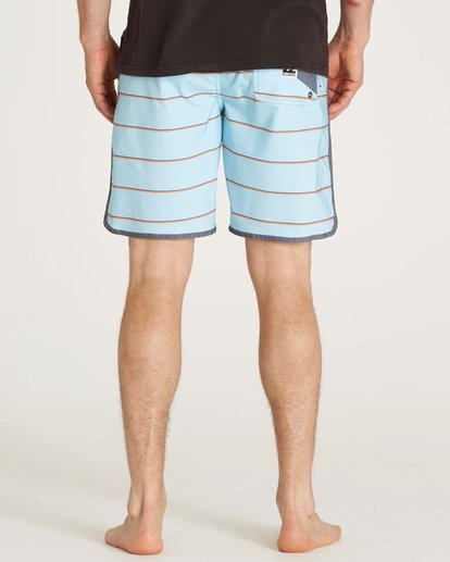 2 73 Lo Tides Boardshorts Blue M178KSXS Billabong