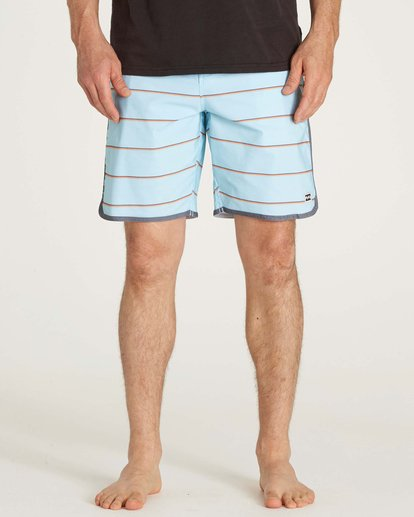 1 73 Lo Tides Boardshorts Blue M178KSXS Billabong