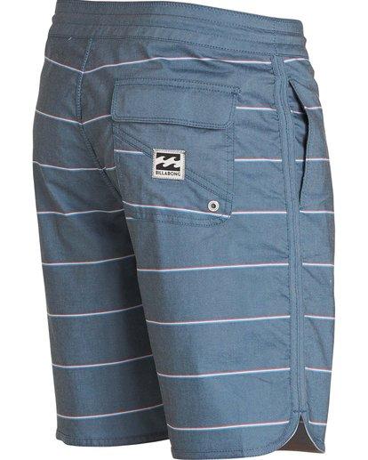 3 73 Lo Tides Boardshorts Blue M178KSXS Billabong