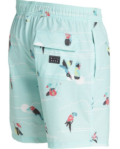 2 Sundays Layback Boardshorts Green M180TBSU Billabong