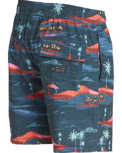 2 Sundays Layback Boardshorts Blue M180TBSU Billabong