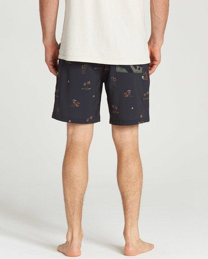4 Sundays Layback Boardshorts  M180TBSU Billabong