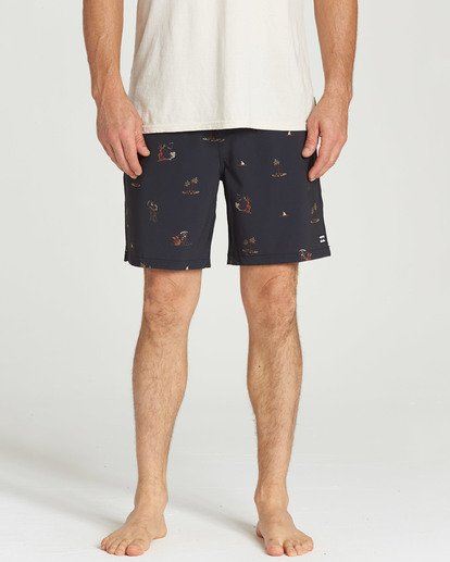 3 Sundays Layback Boardshorts  M180TBSU Billabong