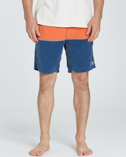 3 Tribong Layback Boardshorts Orange M181NBTB Billabong