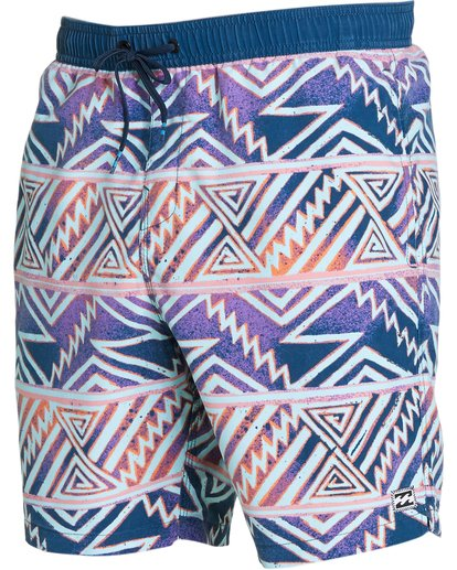 1 Sundays Layback Boardshorts Purple M182NBSU Billabong