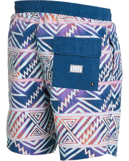 2 Sundays Layback Boardshorts Purple M182NBSU Billabong