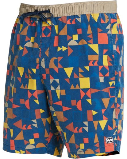 1 Sundays Layback Boardshorts Blue M182NBSU Billabong