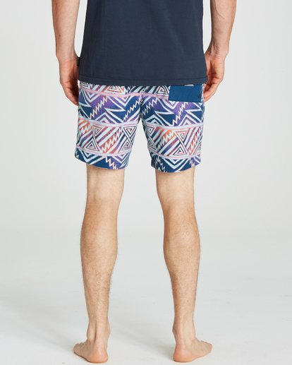 4 Sundays Layback Boardshorts Purple M182NBSU Billabong