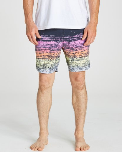 3 Sundays Layback Boardshorts Pink M182NBSU Billabong