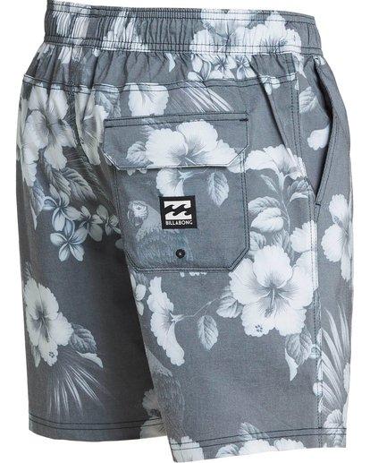 2 Sundays Floral Layback Boardshorts Black M182PBSE Billabong