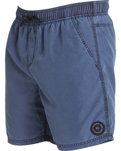 3 All Day Overdye Layback Boardshorts Blue M182QBOE Billabong