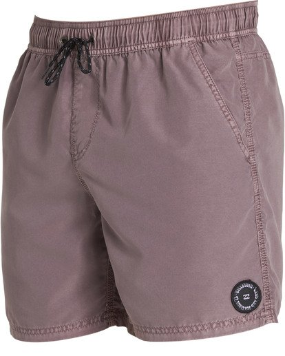 2 All Day Overdye Layback Boardshorts Pink M182QBOE Billabong