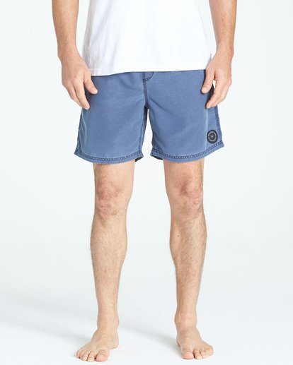 5 All Day Overdye Layback Boardshorts Blue M182QBOE Billabong