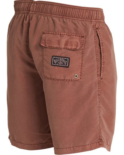 3 All Day Layback Boardshorts Brown M182TBAD Billabong