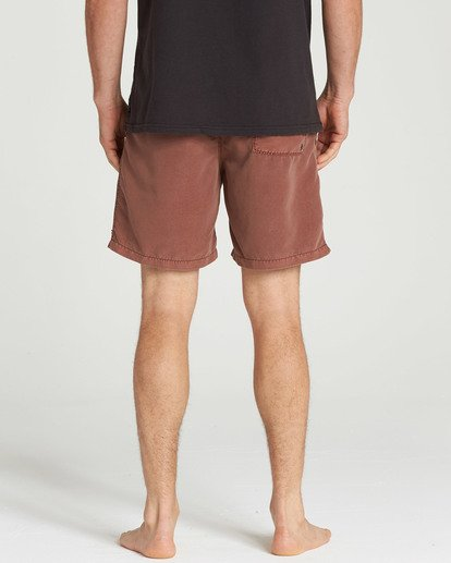 5 All Day Layback Boardshorts Brown M182TBAD Billabong