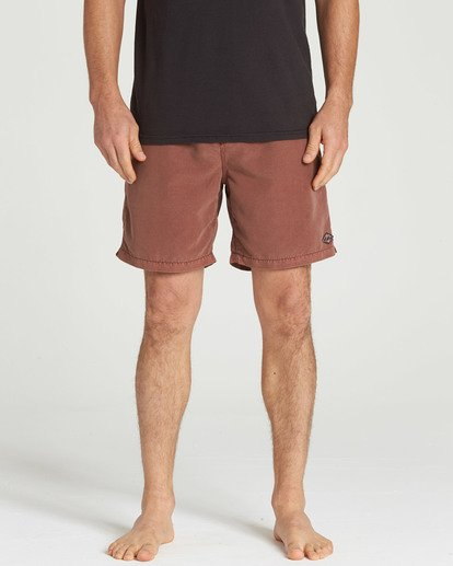 4 All Day Layback Boardshorts Brown M182TBAD Billabong