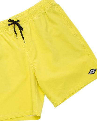 4 All Day Layback Boardshorts Yellow M182TBAE Billabong