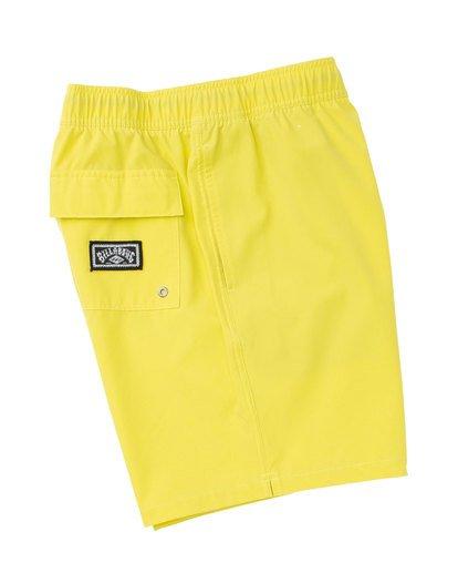 2 All Day Layback Boardshorts Yellow M182TBAE Billabong